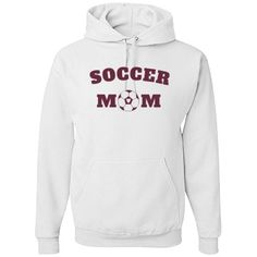 Soccer mom | Soccer mom hoodie for cold nights at the pitch. #soccer #soccermom #soccerdad #soccershirts #soccerapparel