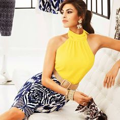 Hollywood Haus of Fashion: Summer Top by the Eva Mendes Collection