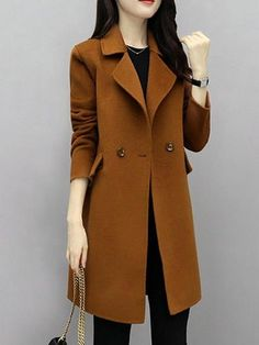 97 Best and Stylish Business Casual Work Outfit for Women - Biseyre Outfit Essentials, Winter Coats Women, Coats For Women, Clothes For Women, Ladies Clothes, Fall Coats, Warm Outfits, Cool Outfits, Hijab Style