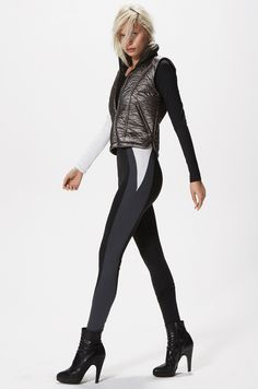 SOLOW FALL 2015 Lookbook - catsuit!