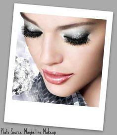 Maybelline metallic makeup
