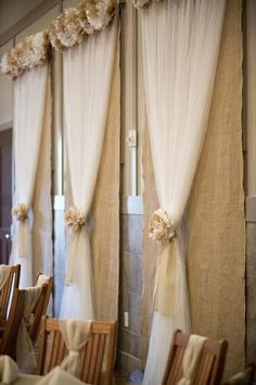 diy wedding backdrops ideas - Google Search