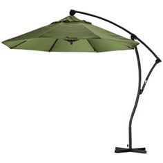 $529.99 Nice 9 foot Offset Umbrella to cover your backdeck table. Imagine enjoying a nice bbq under this #outdoor_patio_umbrella  http://www.plainandsimpledeals.com/prod.php?node=47029