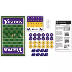 Will Save Us Gamer DIY Kit MasterPieces NFL Minnesota Vikings Checkers Game - Multi-Color- Overstock- (disambiguation) Checkers or draughts is a board game. Checkers or chequers may also refer to: Board Game Online, Board Games, Minnesota Vikings Game, Top Pc Games, Checkers Board Game, Nfl Fans, Unique Christmas Gifts, Shopping Hacks, Football Helmets
