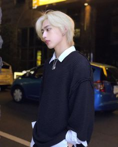 Instagram post by Bobae Kim 隆二 • Apr 25, 2018 at 12:42pm UTC Korean Boys Hot, Korean Men, Cute Korean, Asian Men, Korean Fashion Ulzzang, Korean Boys Ulzzang, Korean Girl, Kim Blonde, Blonde Guys
