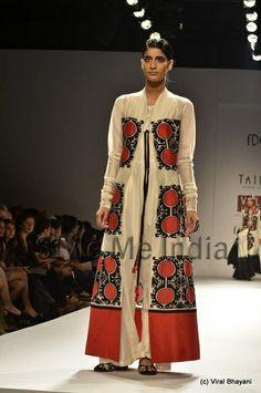 Poonam Bhagat's 'Taika' at Wills Lifestyle India Fashion Week Spring- Summer 2013