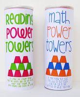 Math Power Towers