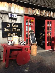 Quaint Coffee Shops in St. Augustine, Florida