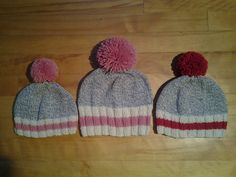 Tuques bas de laine. Knitted Hats, Winter Hats, Creations, Knitting, Crochet, Fashion, Stockings, Wool, Tricot