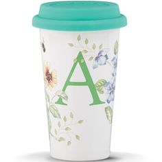 Butterfly Meadow® Initial Travel Mug - A By Lenox