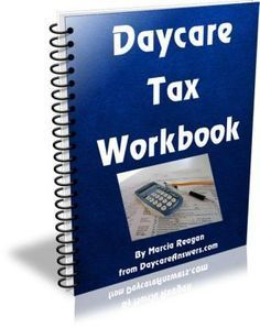 repinned for Billiejo . ...Knowing you, you probably already have a great system but thought you might like to check it out....Daycare Tax Workbook -Now why didn't I think of this...would've been fantastic addition to my planner page section of my Etsy shop! lol
