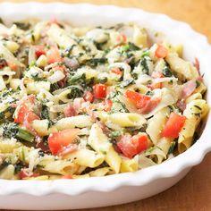 Prosciutto, Spinach, and Pasta Casserole