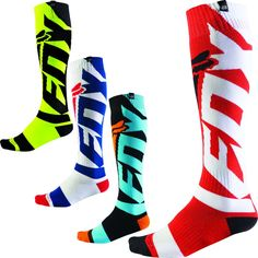 Fox Racing Coolmax Shiv Thick Mens Off Road Dirt Bike Motocross Socks