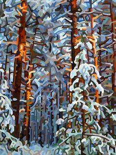 Mandy Budan... Winter Forest