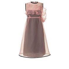 Orla Kiely   UK   Clothing   SALE - Dresses   Bubble Organza Eva Dress (16AWBBO745)   Pink