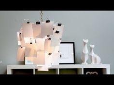 HomeMade Modern, Episode 4 -- DIY Photo Lamp Shade - YouTube
