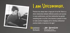 """I Am Uncommon:"" educators from Uncommon Schools, designed by Sarah Bradford"
