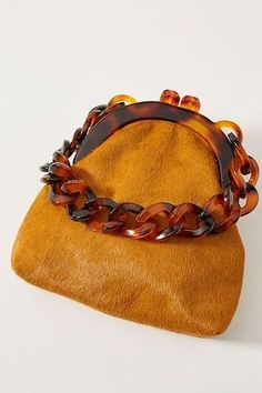 Micro, Nano, Mini: 10 Tiny Handbags That Are Almost Too Cute to Carry : Nano purse and mini bags for fall and winter style! Vintage Purses, Vintage Bags, Vintage Shoes, Unique Bags, Fashion Bags, Fashion Top, Fur Fashion, Handmade Bags, Handmade Bracelets