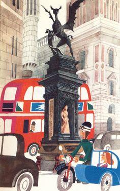 """""""This is London"""" - M. Sasek The Age of Uncertainty: Sasek's London"""