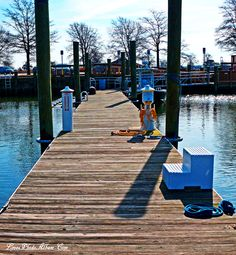 Winter Morning At Sandy Point Marina