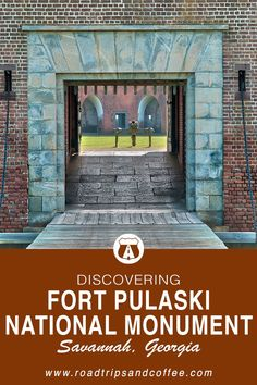 Fort Pulaski National Monument in Savanna, Georgia is a wonderful place to explore Civil War-era history, go for a hike to the Cockspur Lighthouse, and spend a day on an island at the mouth of the Savannah River. National Park Passport, National Parks, Savanna Georgia, Federal Parks, Tybee Island, Park Service, Coffee Travel, Wonderful Places, Savannah Chat