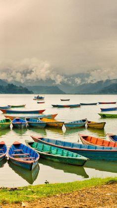Lake Pokhara, Nepal