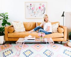 At Home with Glitter Guide Founder, Taylor Sterling... #interiordesign #glitterguide #Taylorsterling