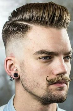 Men's Toupee Human Hair Hairpieces for Men inch Thin Skin Hair Replacement System Monofilament Net Base ( Fade Haircut Styles, Taper Fade Haircut, Hair And Beard Styles, Short Hair Styles, Hipster Haircut, Mens Toupee, Cool Mens Haircuts, 1950s Mens Hairstyles, Men's Haircuts