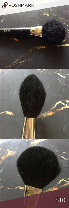 Dior Powder Brush See photos for wear! Great used condition. Please note this brush was a tester. Dior Makeup Brushes & Tools