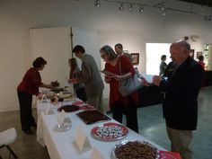 Chocolate Fantasy at KACC - Our very own Charlie McIlvain, CVB Executive Director was a judge for the tasting contest!