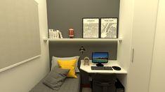Corner Desk, Architecture, Furniture, Instagram, Home Decor, Bedrooms, Objects, Corner Table, Arquitetura