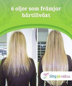 6 oljor som främjar hårtillväxt Dessa #naturliga oljor är billiga #alternativ till kommersiella #produkter som reparerar #skadat hår.