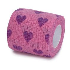 Top Performance Pet Bandaging Tape, Extra Long, 2-Inch, Heart - http://www.thepuppy.org/top-performance-pet-bandaging-tape-extra-long-2-inch-heart/