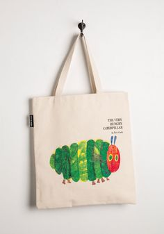 Bags & Wallets - Bookshelf Bandit Tote in Caterpillar
