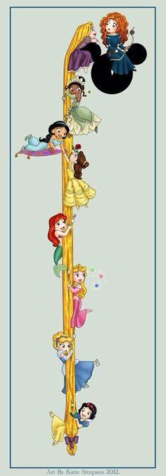 Adorable tiny princesses!