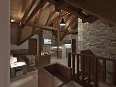 CHALUPA ALBRECHTICE LOFT 3D DESIGN 3d Design, Divider, Loft, Interior, Furniture, Home Decor, Decoration Home, Indoor, Room Decor