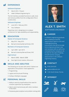 Cool Resume Template Software Engineer Idea free resume for software engineer fresher template word Resume Template Software Engineer. Here is Cool Resume Template Software Engineer Idea for you. √ Software Engineer Resume Samples Sample Resume For D.