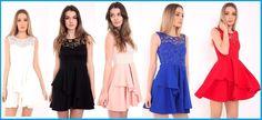 #Womens #Lace #Skater #Dress #Ladies #Bodice Pleated #Frill #MiniDresses #Sexy #Classy UK http://www.ebay.co.uk/itm/-/371876948319?roken=cUgayN via @eBay_UK