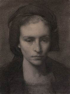 Portrait sketching at class tomorrow ; Colleen Barry ~ Graphite and charcoal study for the portrait of MJW Portrait Sketches, Pencil Portrait, Portrait Art, Drawing Sketches, Manga Drawing, Drawing Tips, Graphite Drawings, Pencil Drawings, Art Drawings
