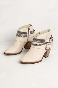 $259 Anthropologie - Chained Ankle Boots