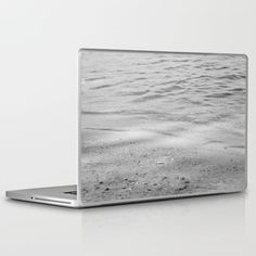 Seashore Textures Laptop & iPad Skin by ARTbyJWP - $30.00