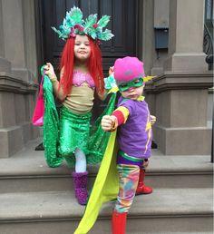 costume de déguisement et costume de sirène Ariel : jupe à paillettes vertes et…