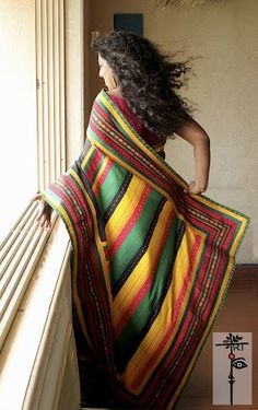 A saree by MORA