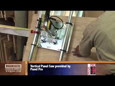 Safety Speed Cut Panel Pro 2 Panel Saw Woodworking Workshop, Woodworking Videos, Woodworking Bench, Woodworking Crafts, Woodworking Projects, Wood Projects, Sierra Vertical, Wood Carving Chisels, Cordless Drill Reviews