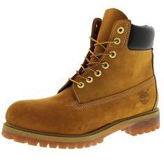 Timberland - Men's Icon 6 Inch Premium Waterproof Boot - Wheat Nubuck