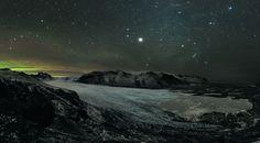 """Cielo estrellado en Skaftafell"" Islandia. por Stephane Vetter"
