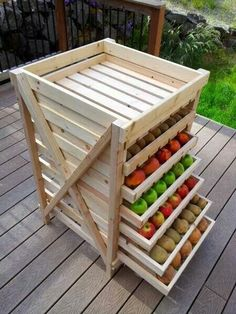 Food shelf storage