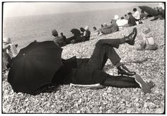 Cartier Bresson's irony mode on