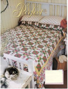 Petal Perfect Quilt Pattern Pieced MH