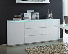 Germania Chicago Modern High Gloss White 2 Door Sideboard - See more at: https://www.trendy-products.co.uk/product.php/7977/germania_chicago_modern_high_gloss_white_2_door_sideboard#sthash.SWj4QahC.dpuf #germania #modernfurniture #interiordesign #homedecor #interiors #furniture #homedesign #designerfurniture #love